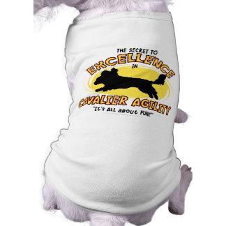 Agility Cavalier King Charles Spaniel Secret T-Shirt