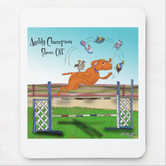 Agility Champion Show Off Mouse Pad
