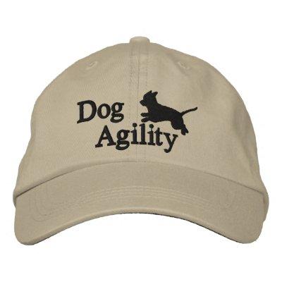 Agility Chihuahua Baseball Cap