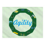 Agility Circle Postcard