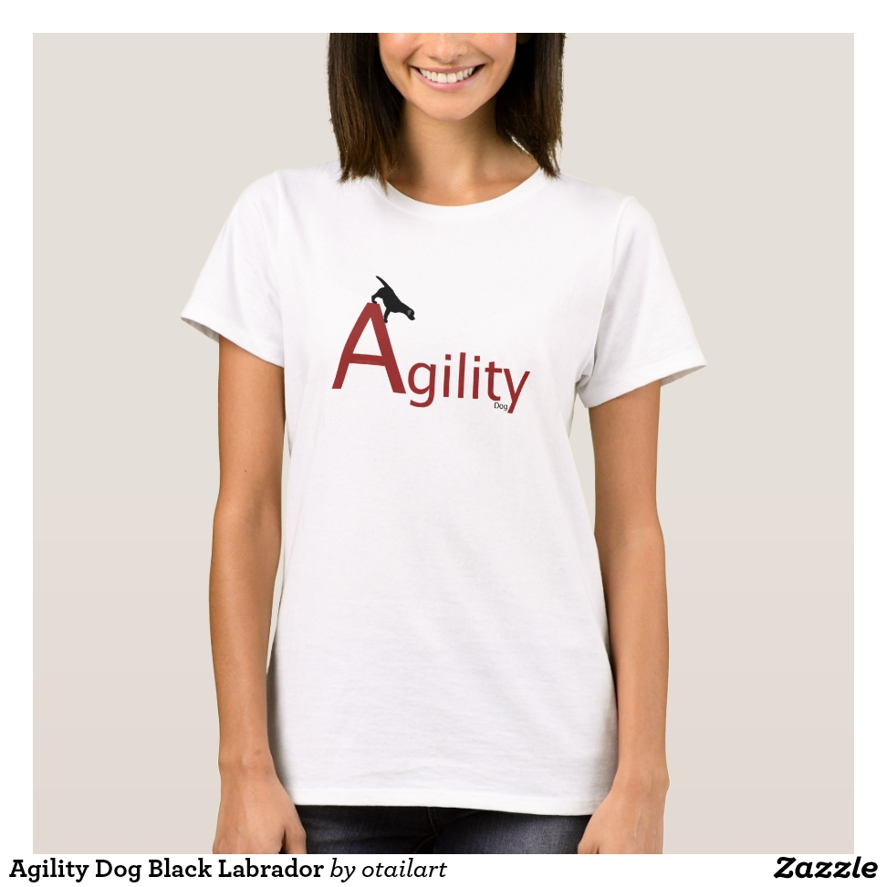 Agility Dog Black Labrador T-Shirt - Best Selling Long-Sleeve Street Fashion Shirt Designs