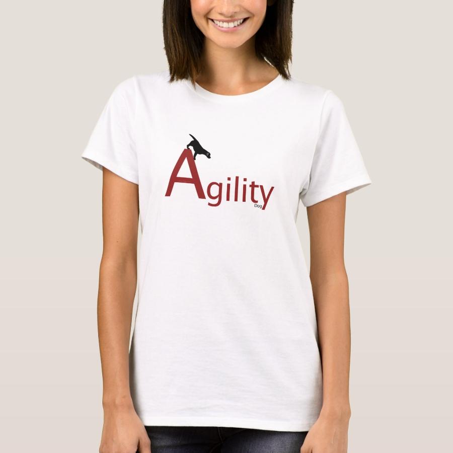 Agility Dog Black Labrador T-Shirt - Best Selling Long-Sleeve Street Fashion Shirt Designs