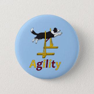 Agility dog button
