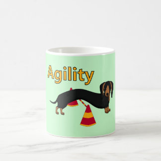 Agility dog coffee mug