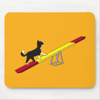 Agility dog mouse pads