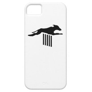 Agility Dog Silhouette iPhone 5 Cover