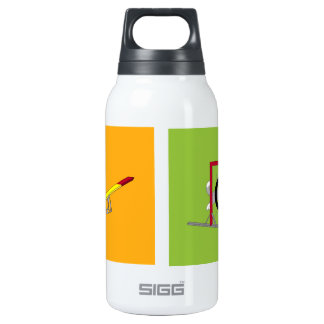Agility dogs insulated water bottle