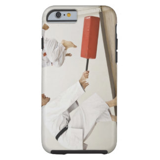 Agility exercise in karate class tough iPhone 6 case