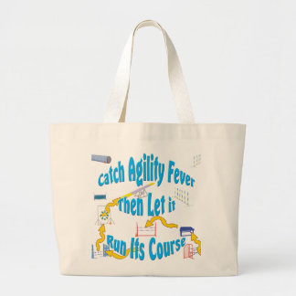 Agility Fever Large Tote Bag