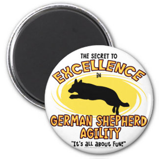 Agility German Shepherd Secret Magnet