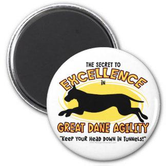 Agility Great Dane Secret Magnet