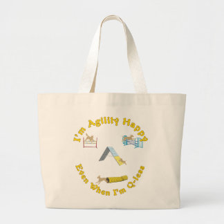 Agility Happy Large Tote Bag