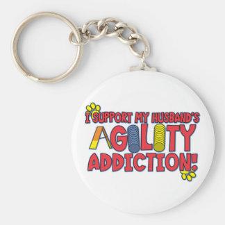 Agility Husband Keychain