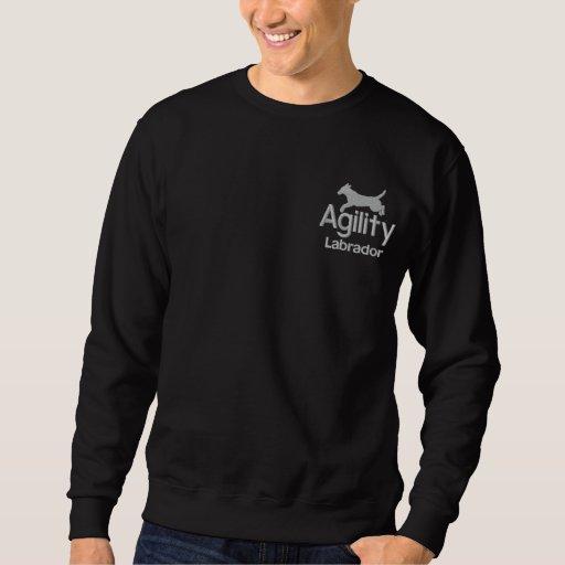 Agility Labrador Retriever Embroidered Sweatshirt
