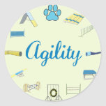 Agility Obstacles Sticker