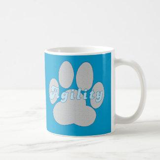 Agility Paw Coffee Mugs