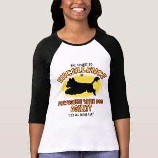 Agility Portuguese Water Dog Secret T-shirt