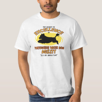 Agility Portuguese Water Dog Secret Tee Shirt