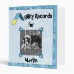 Agility Records Binder (Blue)