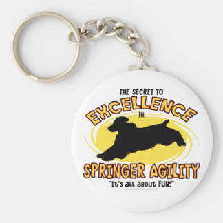 Agility Springer Secret Keychain
