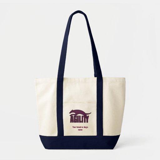 Agility Stylized Design in Burgundy Bags