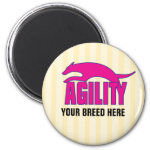 Agility Stylized Design Magnet