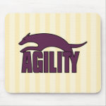 Agility Stylized Design Mouse Pad