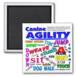 Agility Terms 2 Inch Square Magnet