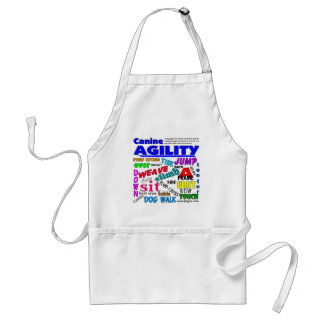 Agility Terms Adult Apron