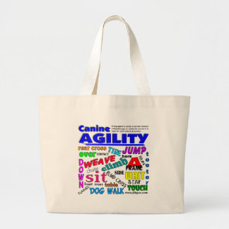 Agility Terms Large Tote Bag