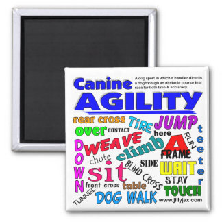Agility Terms Refrigerator Magnets