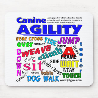 Agility Terms Mouse Pad