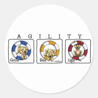Agility Tire - GBU - agility stickers