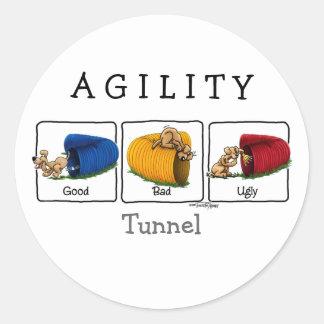 Agility Tunnel GBU stickers