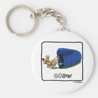 Agility Tunnel - Go Time Keychain