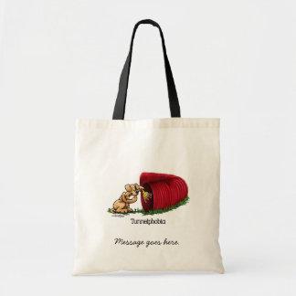 Agility Tunnel - Tunnelphobia Tote Bag
