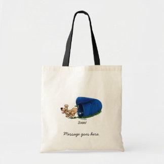 Agility Tunnel - Zoom Tote Bag