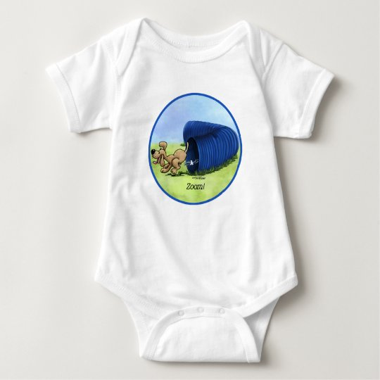 Agility Tunnel zooms baby Baby Bodysuit