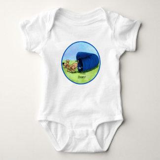 Agility Tunnel zooms baby Tshirt