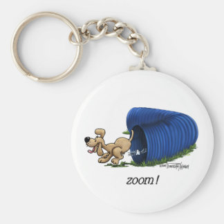 Agility Tunnel Zooms keychain