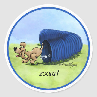 Agility Tunnel Zooms stickers