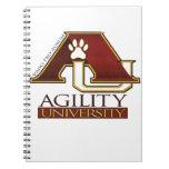 Agility University Spiral Note Books