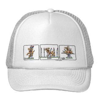 Agility Weave poles - GBU - agility hat