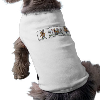 Agility Weave poles GBU Dog T-shirt