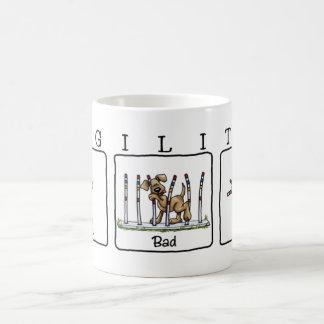 Agility Weave poles GBU mug