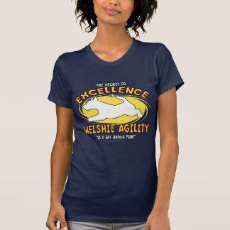 Agility Welsh Terrier Secret Ladies Dark T-Shirt