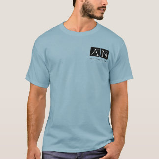 AgilityNerd Logo with Meeker's Pals Back Image T-Shirt