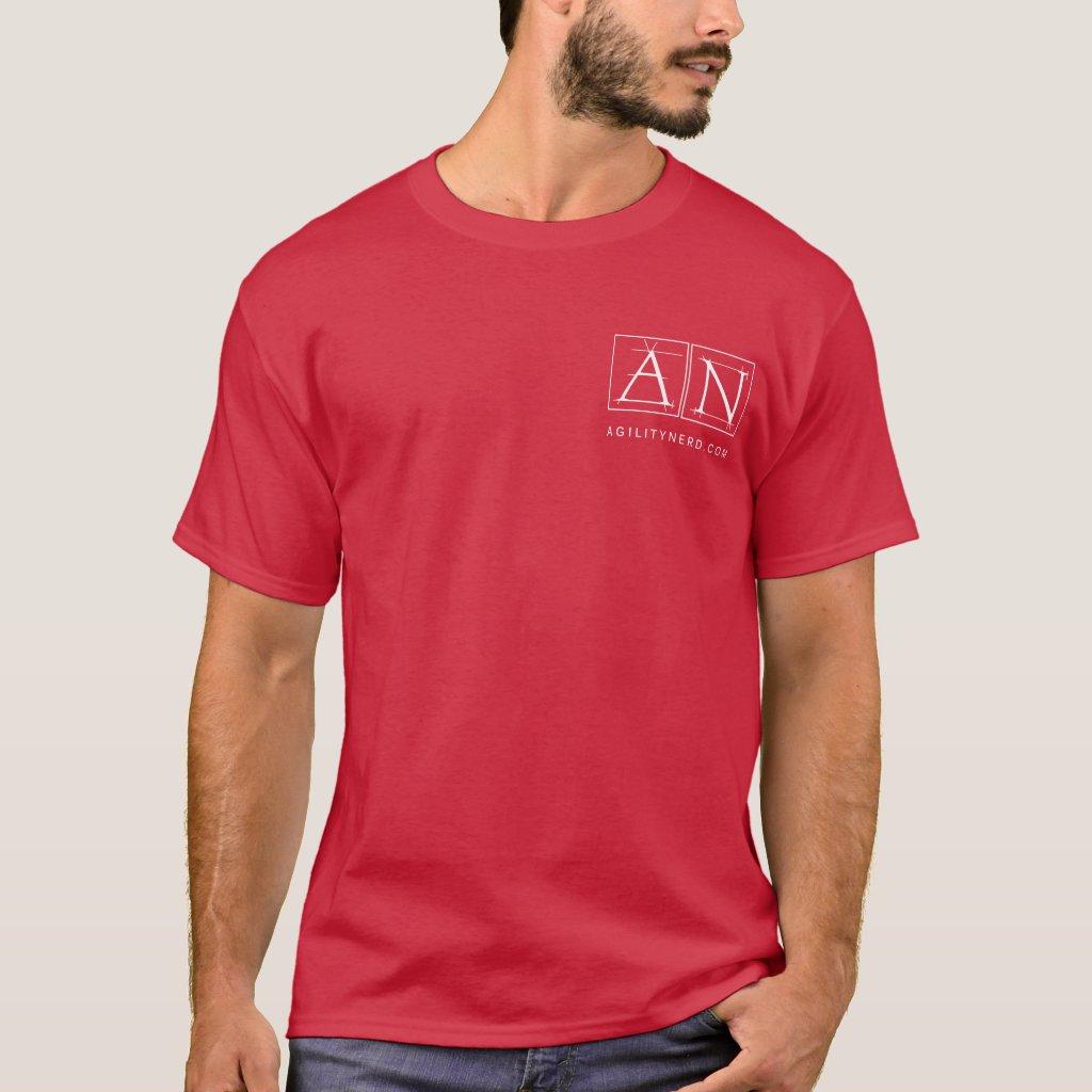 Dog Agility Nerd Logo T-Shirt