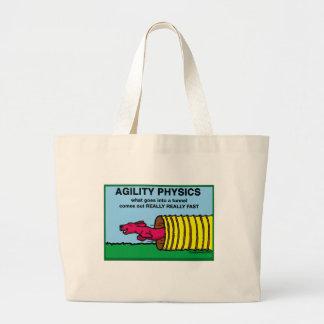 AgilityPhysics Canvas Bags