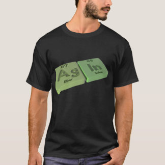 Agin as Ag Silver and In Indium T-Shirt